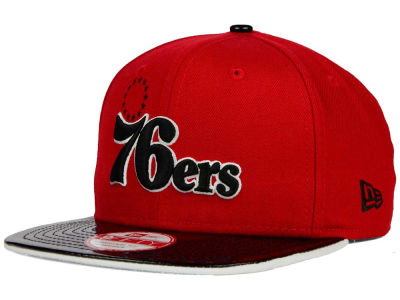 Philadelphia 76ers New Era NBA HWC Bred Hookup 9FIFTY Snapback Cap