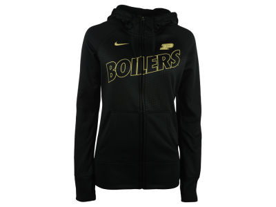 Purdue Boilermakers Nike NCAA Women's Full Zip Fleece Hoodie