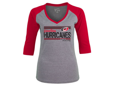 Carolina Hurricanes NHL Women's Amherst Raglan T-Shirt