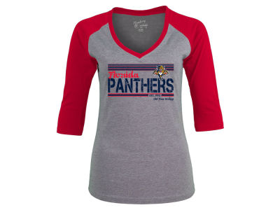 Florida Panthers NHL Women's Amherst Raglan T-Shirt