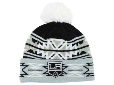 Los Angeles Kings Reebok NHL 2015 Geotech Pom Knit