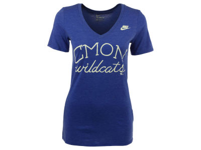 Kentucky Wildcats Nike NCAA Women's Tri Mid V-Neck Local Attitude T-Shirt