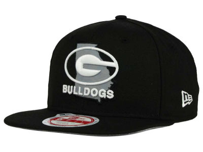 Georgia Bulldogs New Era NCAA State Flective 9FIFTY Snapback Cap