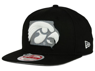 Iowa Hawkeyes New Era NCAA State Flective 9FIFTY Snapback Cap