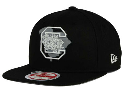South Carolina Gamecocks New Era NCAA State Flective 9FIFTY Snapback Cap