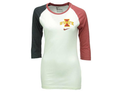 Iowa State Cyclones Nike NCAA Women's Tri Strong Raglan T-Shirt