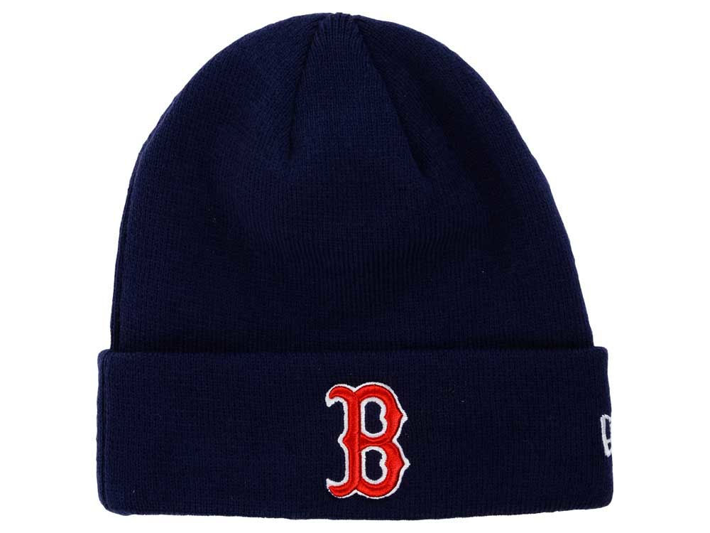 17df7f69c5a Boston Red Sox New Era MLB Basic Cuffed Knit