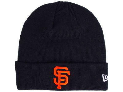 San Francisco Giants New Era MLB Basic Cuffed Knit