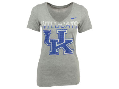 Kentucky Wildcats Nike NCAA Women's Dri-Blend Mid V T-Shirt