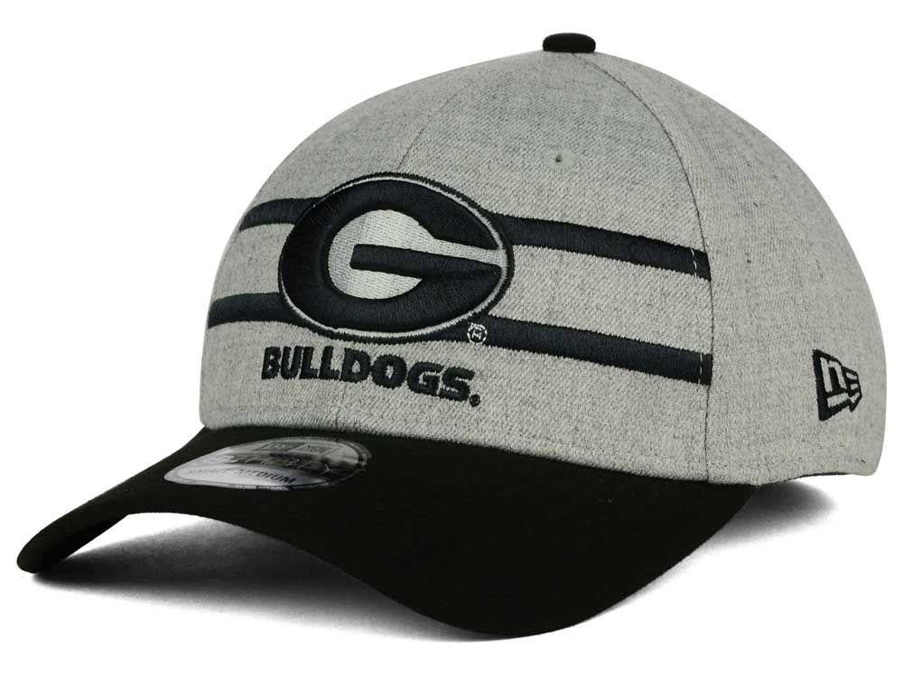 Georgia Bulldogs New Era NCAA Gridiron 39THIRTY Cap  499cdae617d
