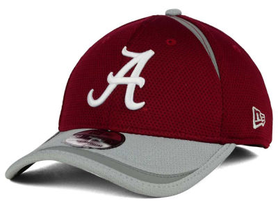 Alabama Crimson Tide New Era NCAA Stripe Stretch 39THIRTY Cap