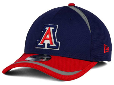 Arizona Wildcats New Era NCAA Stripe Stretch 39THIRTY Cap