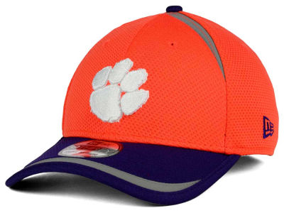 Clemson Tigers New Era NCAA Stripe Stretch 39THIRTY Cap