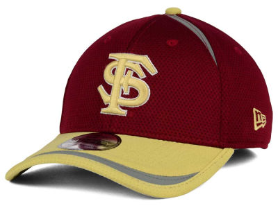 Florida State Seminoles New Era NCAA Stripe Stretch 39THIRTY Cap