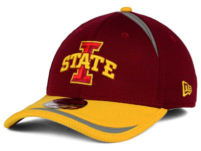 Iowa State Cyclones New Era NCAA Stripe Stretch 39THIRTY Cap