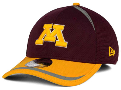 Minnesota Golden Gophers New Era NCAA Stripe Stretch 39THIRTY Cap