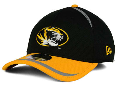Missouri Tigers New Era NCAA Stripe Stretch 39THIRTY Cap
