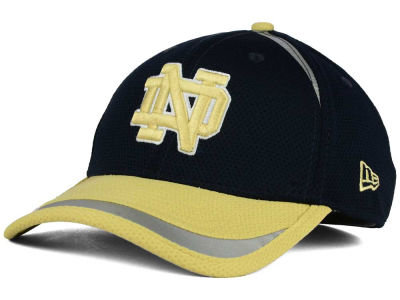 Notre Dame Fighting Irish New Era NCAA Stripe Stretch 39THIRTY Cap