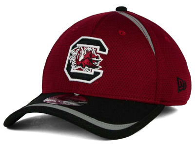 South Carolina Gamecocks New Era NCAA Stripe Stretch 39THIRTY Cap