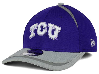 Texas Christian Horned Frogs New Era NCAA Stripe Stretch 39THIRTY Cap