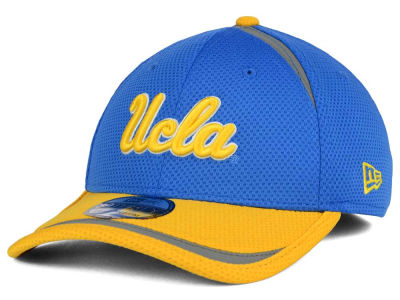 UCLA Bruins New Era NCAA Stripe Stretch 39THIRTY Cap