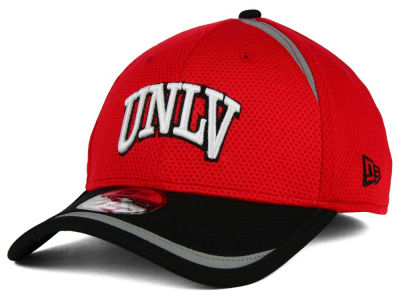 UNLV Runnin Rebels New Era NCAA Stripe Stretch 39THIRTY Cap