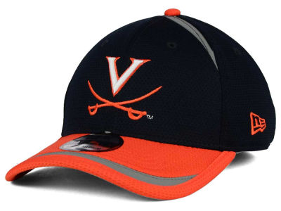 Virginia Cavaliers New Era NCAA Stripe Stretch 39THIRTY Cap
