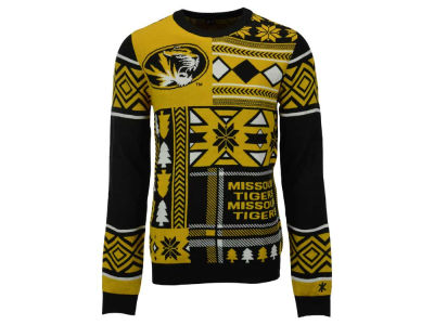 Missouri Tigers La Tilda NCAA Men's Patches Ugly Sweater