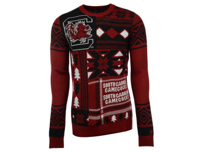 South Carolina Gamecocks La Tilda NCAA Men's Patches Ugly Sweater