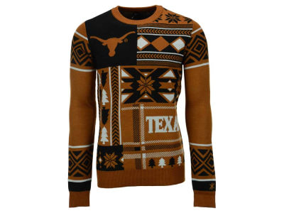 Texas Longhorns La Tilda NCAA Men's Patches Ugly Sweater