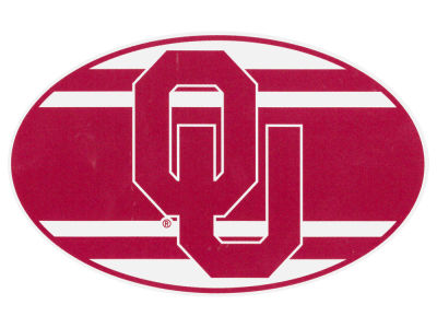 Oklahoma Sooners 5x7 Super Stripe Decal