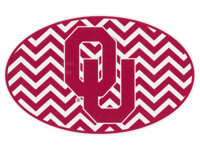 Oklahoma Sooners 5x7 Chevron Decal
