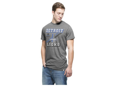 Detroit Lions '47 NFL Men's Retro Tri-State Triblend T-Shirt
