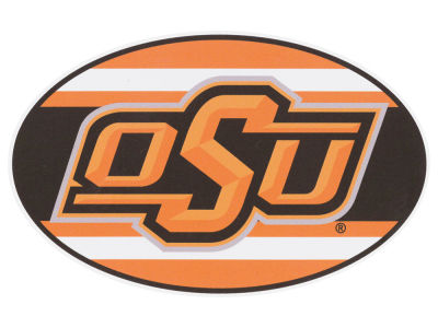 Oklahoma State Cowboys 5x7 Super Stripe Decal