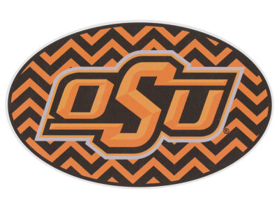 Oklahoma State Cowboys 5x7 Chevron Decal