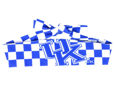 Kentucky Wildcats Checkered Flex Tie Headband