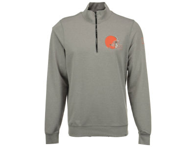Cleveland Browns '47 NFL Men's Forward Peak 1/4 Zip Pullover