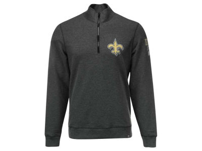 New Orleans Saints '47 NFL Men's Forward Peak 1/4 Zip Pullover