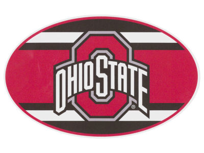 Ohio State Buckeyes 5x7 Super Stripe Decal
