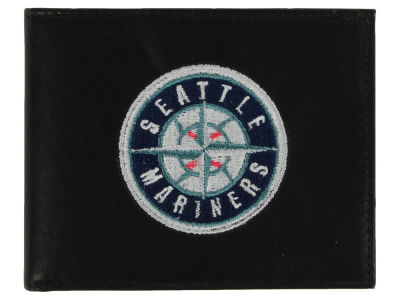 Seattle Mariners Black Bifold Wallet