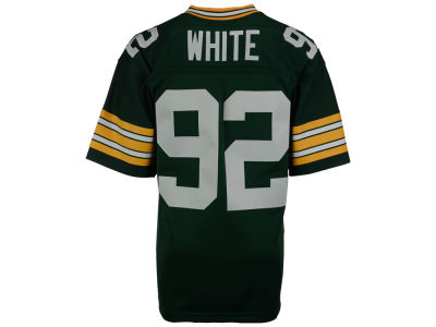 Green Bay Packers Reggie White Mitchell and Ness NFL Replica Throwback Jersey