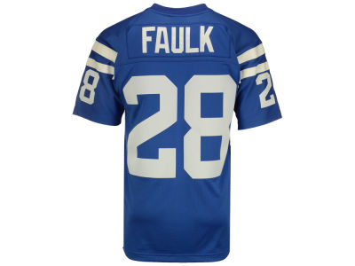 Indianapolis Colts Marshall Faulk Mitchell and Ness NFL Replica Throwback Jersey