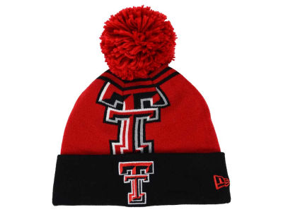Texas Tech Red Raiders New Era NCAA Logo Whiz Knit