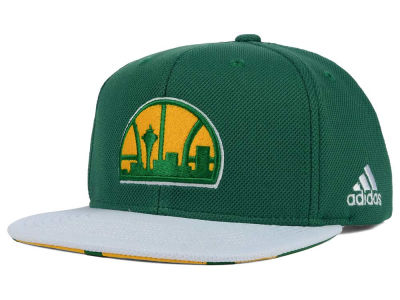 Seattle SuperSonics adidas 2015 NBA Draft Snapback Cap