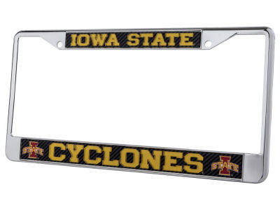 Iowa State Cyclones Carbon Laser Frame