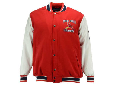 St. Louis Cardinals GIII MLB Men's Game Ball Commemorative 3X Jacket