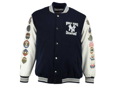 New York Yankees GIII MLB Men's Game Ball Commemorative 3X Jacket