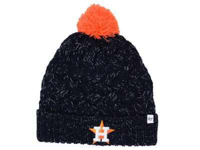 Houston Astros '47 MLB Women's '47 Fiona Pom Knit