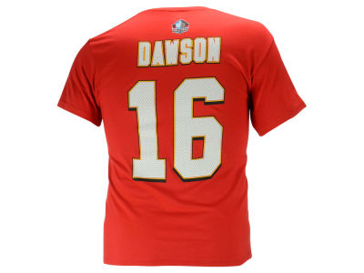 Kansas City Chiefs Len Dawson NFL Men's Hall Of Fame Eligible Receiver II T-Shirt