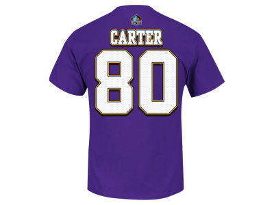 Minnesota Vikings Cris Carter NFL Men's Hall Of Fame Eligible Receiver II T-Shirt